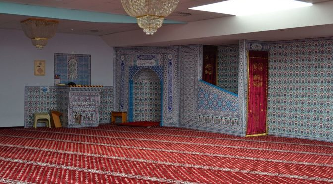 Besuch der Moschee in Weidenpesch | 6.4.2017