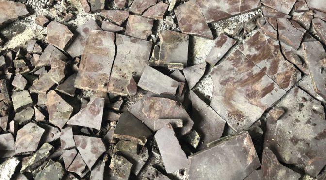 Boden in der Erlöserkirche in Weidenpesch bei Bauarbeiten