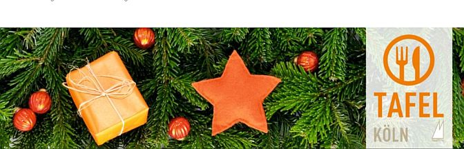 Fröhliche Weihnachten für alle? | Abgabe am 9.12.2020 an der Baustelle der Erlöserkirche, Weidenpesch