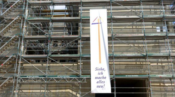 Grundsteinlegung der Erlöserkirche Köln-Weidenpesch | 12.09.2021 – 12 Uhr