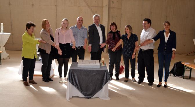 Grundsteinlegung Erlöserkirche am 12.09.2021 – ein Freudenfest für die Gemeinde und den Stadtteil